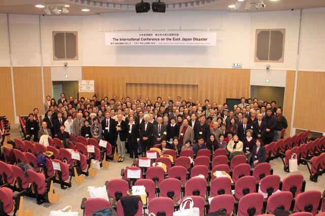 東日本大震災国際会議全体写真